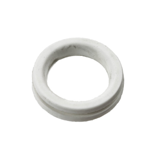 White silicone water tight fill seal for the polti cleaner M0S03393