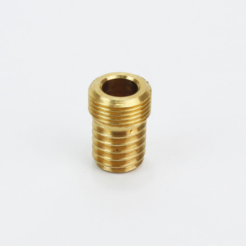 "Brass Wood Nipple for 1/2"" fixing lampholders 31309"