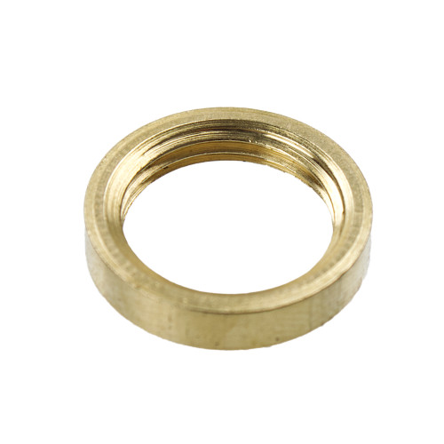 """Brass Ring Nut For 1/2"""" Threads 48568"""