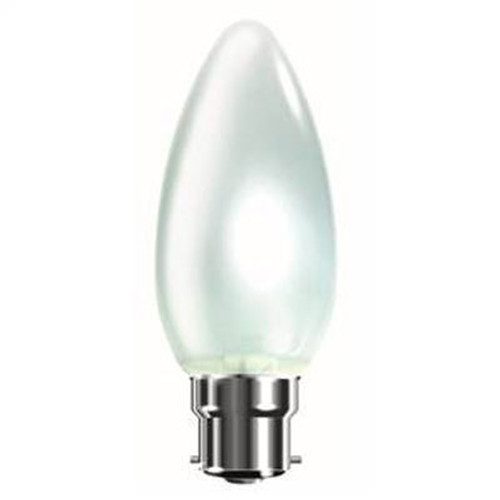 BC 40w Opal Candle Tough Lamp Bell 00171 [PLU9047]
