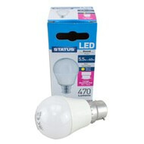 LED BC Golf Ball 5.5W Warm White PLU10159