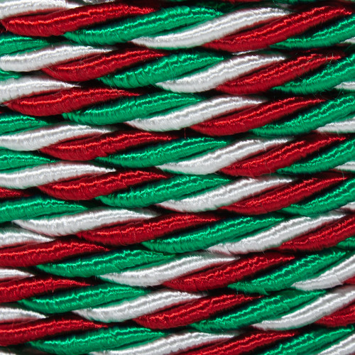 Italian Colored Twisted Fabric Cable 3 Core 2166374