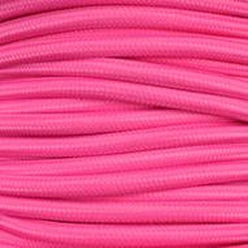3 Core Braided Pink Round Flex 0.75mm 34AO56/3 PLU20226