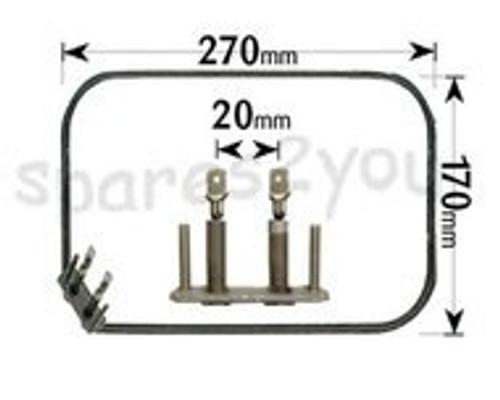 AEG 1500W Fan Oven Element ELE4713