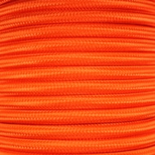 3 Core Braided Orange Round Flex 0.75mm PLU8773