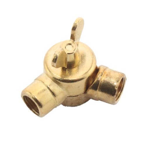 Brass banjo knuckle joint with 10mm female ends 2787744