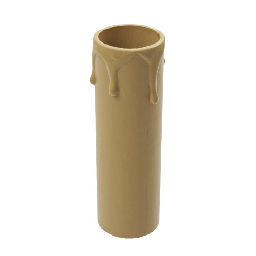 Antique Candle Tube Cover With Drip Effect 24 x 85mm [3037781]