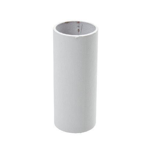 Plain White Candle Tube Cover 24 x 65mm [3037370]