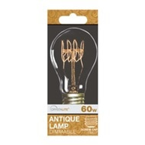 60w Crystalite Antique GLS ES Quad Loop Filament [3230758]