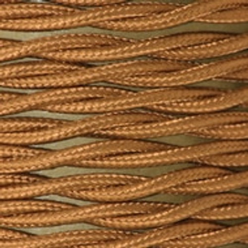 Antique Gold 2 core twisted braided flex [3234490]