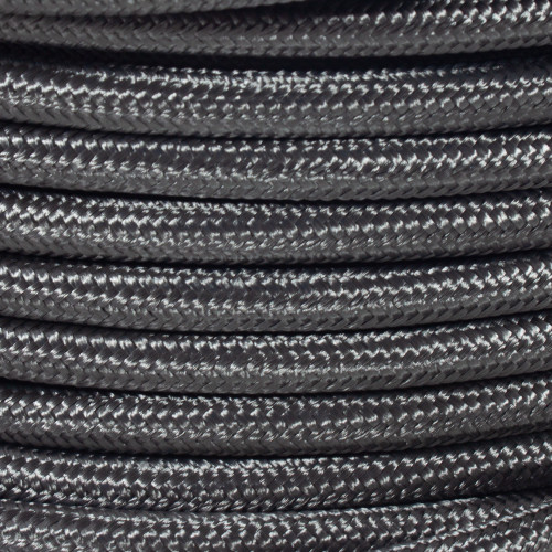 2 Core Braided Grey Round Flex 3260598