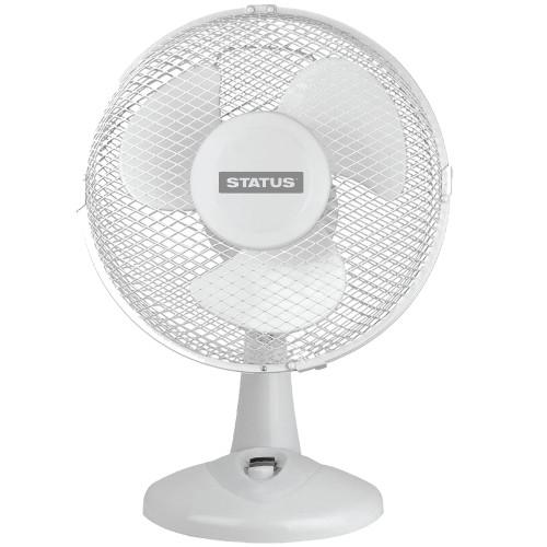 """Status 9"""" Desk Fan White 3552993"""