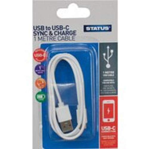 1 Meter USB to USB-C Sync and Charging Cable 3550835