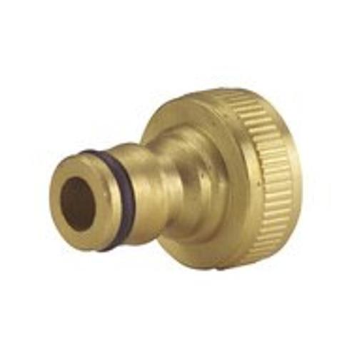 "Brass Garden Hose Outdoor Tap Connector 3/4"" 3960001"