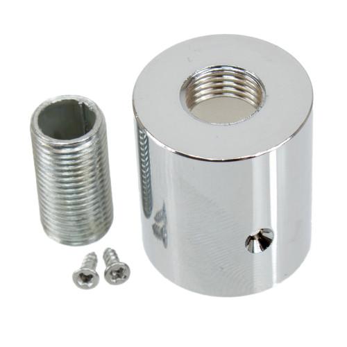 Chrome Metal Terminal For Braided 16mm Flexible Conduit 3574031