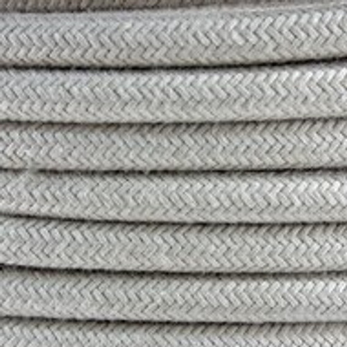Dove Cotton Round Fabric Cable 3 Core 4200449
