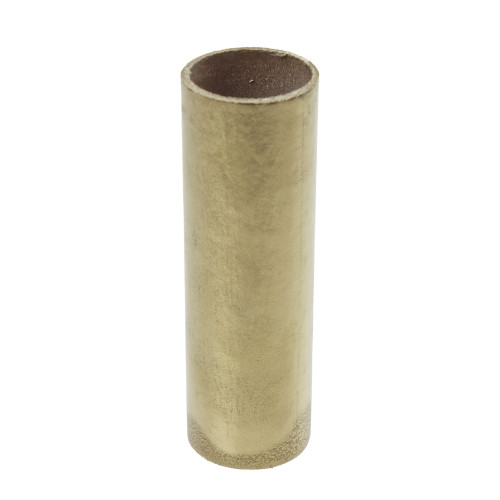 Gold Candle Tube Cover Plain 24 x 85mm 4275982