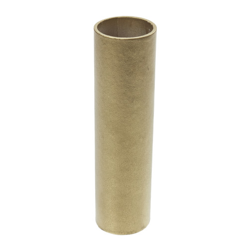 Gold Candle Tube Cover Plain 24 x 100mm 4156176
