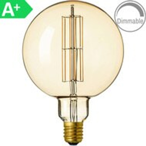 Giant 8w ES Antique Amber LED Filament 4297819