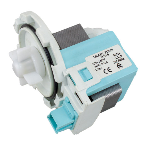 Universal Washing Machine | Dishwasher B20-6 Drain Outlet Pump Front Terminals 4457626