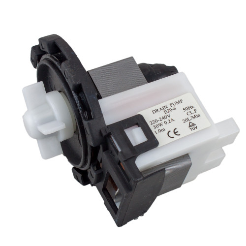 Universal Washing Machine | Dishwasher B20-6 Drain Outlet Pump Rear Terminals 4457627