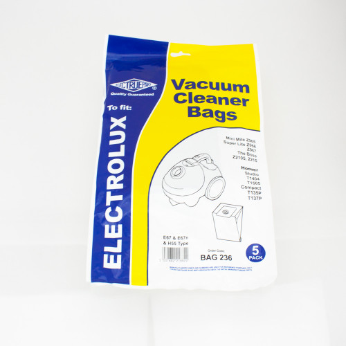 Electrolux E67 Dust Bag PLU15173