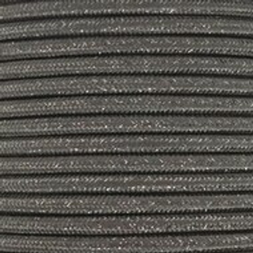 Grey Glitter Round 3 Core Fabric Cable 4545801