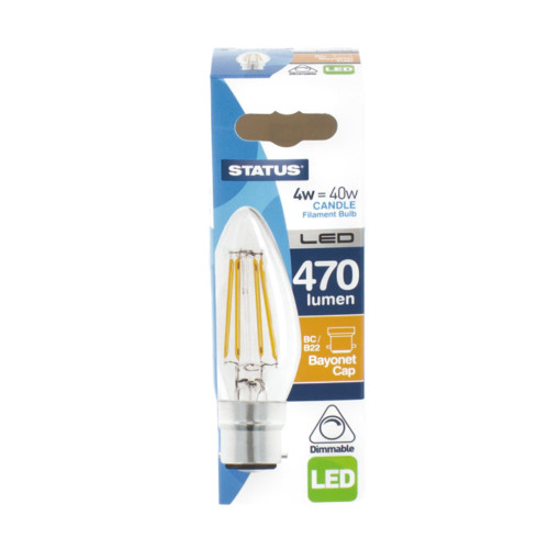 LED BC Candle 4w Dimmable  [4584017]