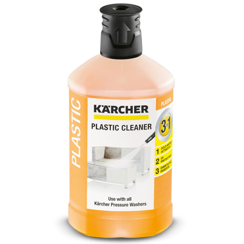 Karcher Plug & Clean Plastic Cleaner 3-in-1 1L 6.295-758.0
