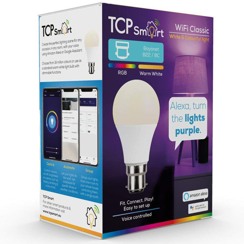 BC | B22 | Bayonet Cap RGB Smart Light Bulb 4821172