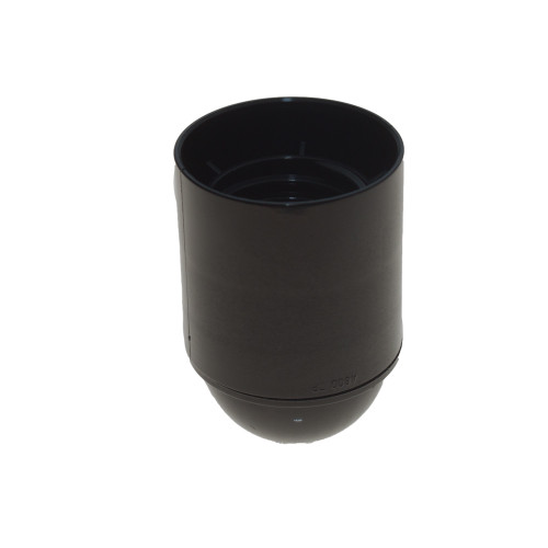 ES Plain Black Lampholder with 10mm Thread LH2