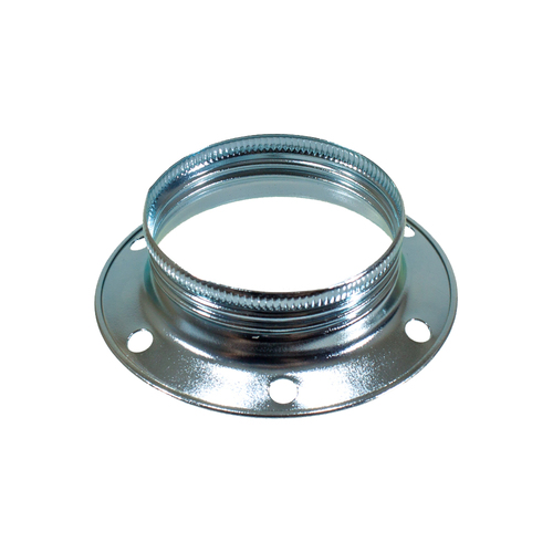 ES | E27 | Edison Screw Shade Ring White Zinc 4944635
