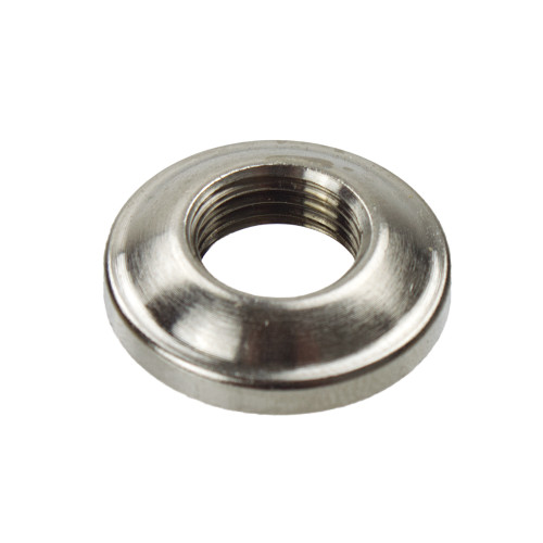 Nickel 10mm Dome Ring Nut 5022001
