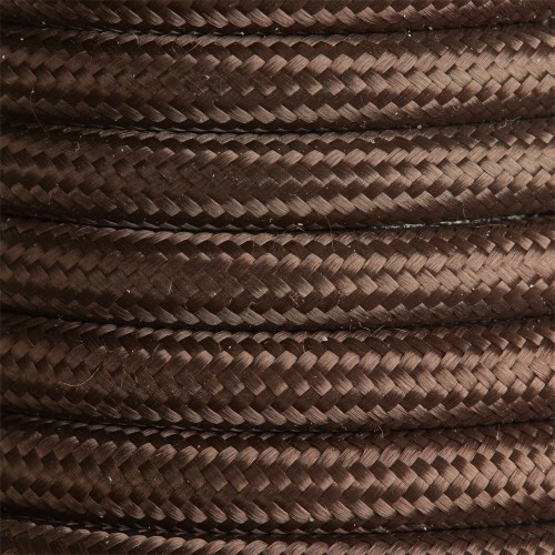 2 Core Braided Brown Round Flex 5087647