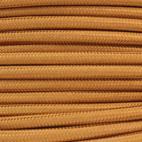 2 Core Braided Antique Gold Round Flex 5087645
