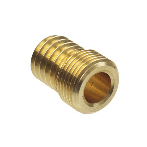 "Brass Wood Nipple for 1/2"" fixing lampholders 31309"