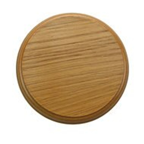 200mm Oak Plinth Lamp Base [S7-200 PLU64117]