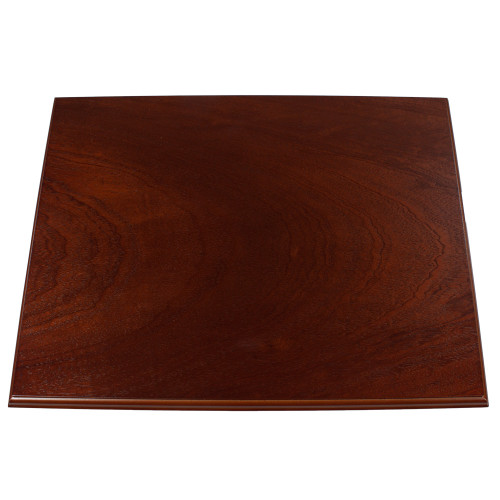 Mahogany Effect Lamp Base 300 x 230mm 5551370