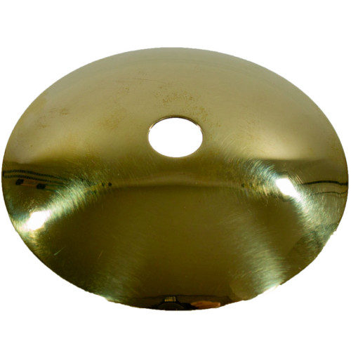 Brass Sconce 70mm dia with 10mm Hole 5507718