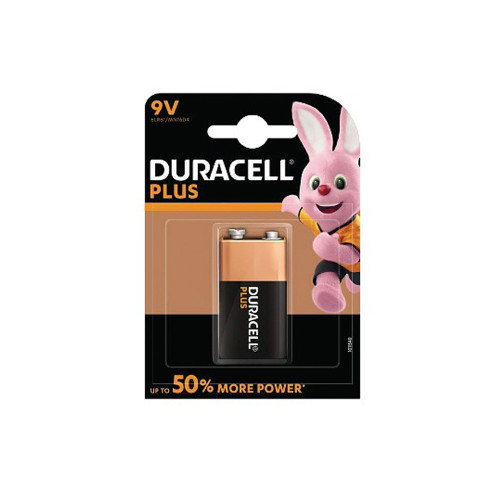 Duracell Plus Power 9V Battery 22609