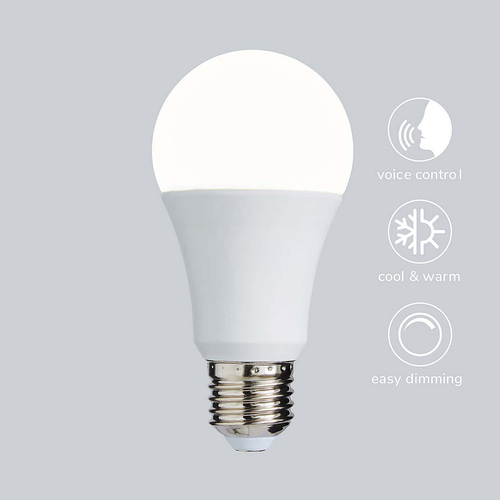 Status Smart Alexa Google Assistant Dimmable 9w ES LED Lamp 5991432