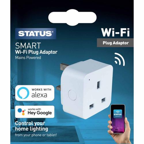 Status Smart Alexa Google Assistant Plug in Adaptor 6071646