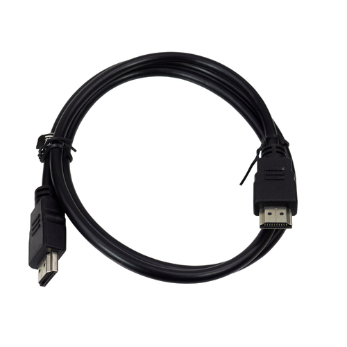 1 Metre HDMI Cable  Nickel Plated Cable 6mm in Black 6123280