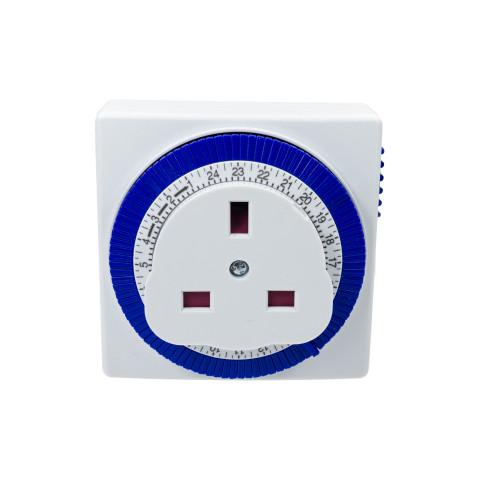 Status 24 Hour Compact Segment Plugin Timer 6123281