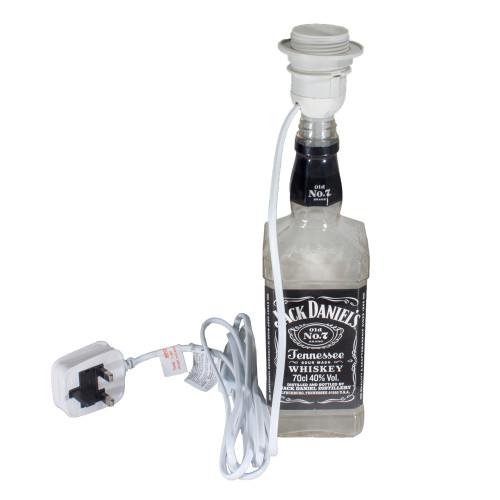 ES | E27 | Edison Screw Lampholder Bottle Adaptor with Lead White 6188259