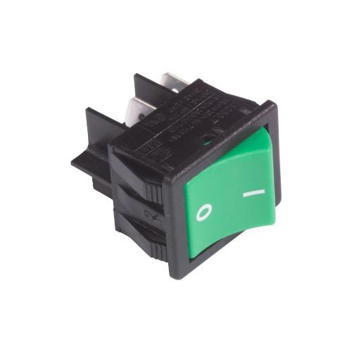 Numatic Green on/off Rocker switch 220582