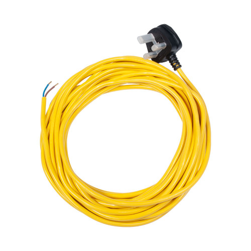 Numatic Mains Cable Yellow 12.5mt x 0.75mm 2 Core 911501