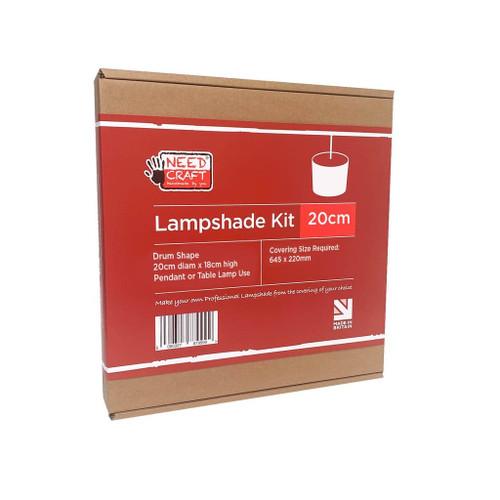 DIY Lampshade Kit - Drum 20cm 7171834