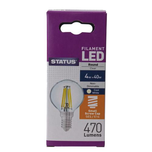 LED SES 4w Filament Lamp 7007236