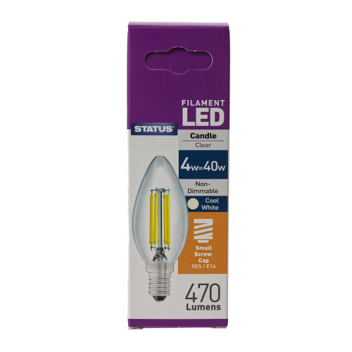 LED SES Candle 4w Filament Lamp 7007105